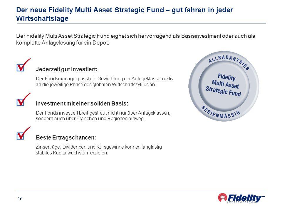Der neue Fidelity Multi Asset Strategic Fund – gut fahren in jeder Wirtschaftslage