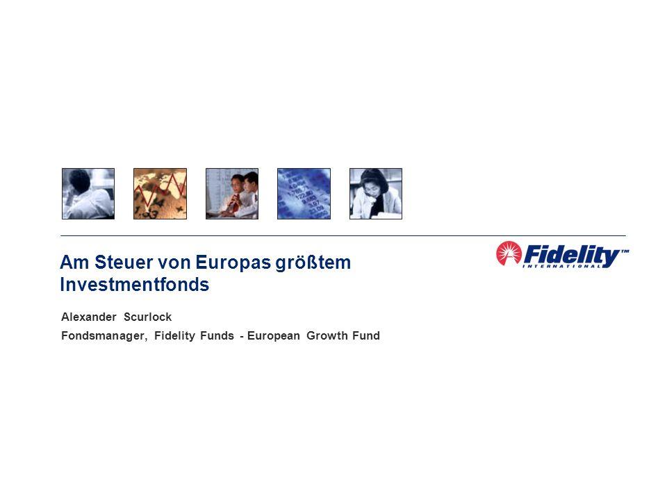 Am Steuer von Europas größtem Investmentfonds
