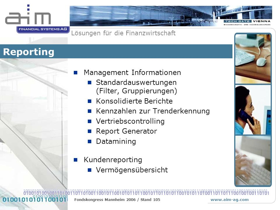 Reporting Management Informationen