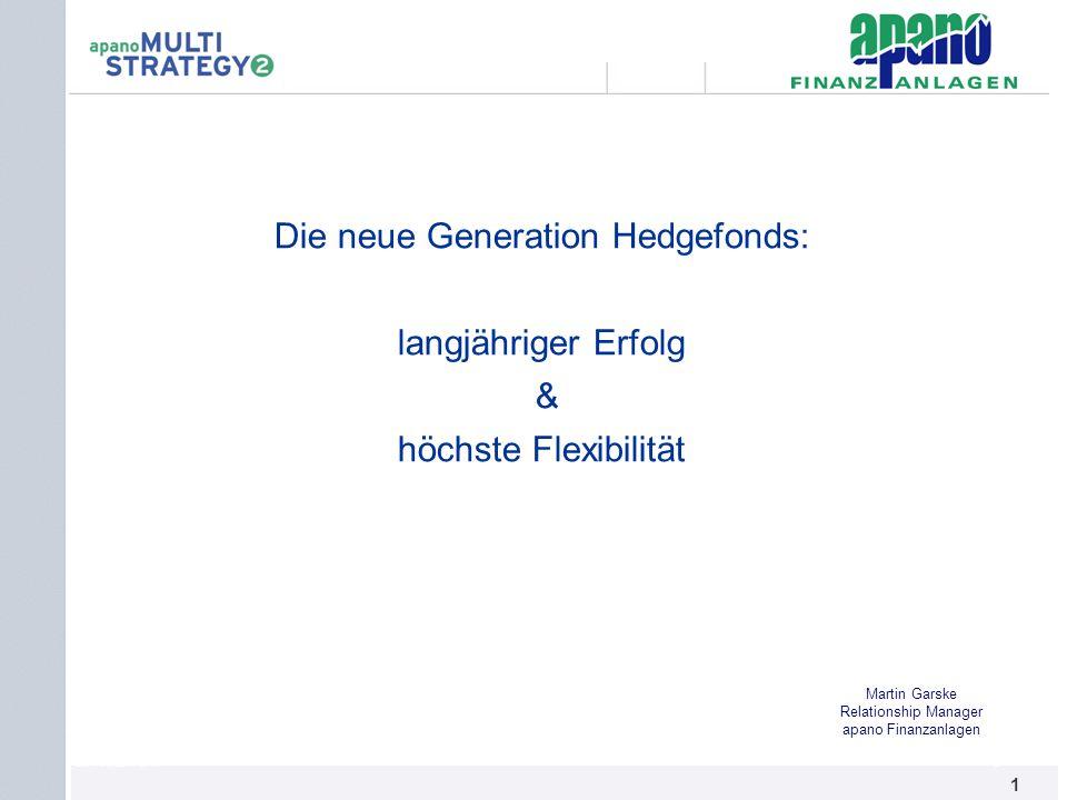 Die neue Generation Hedgefonds: