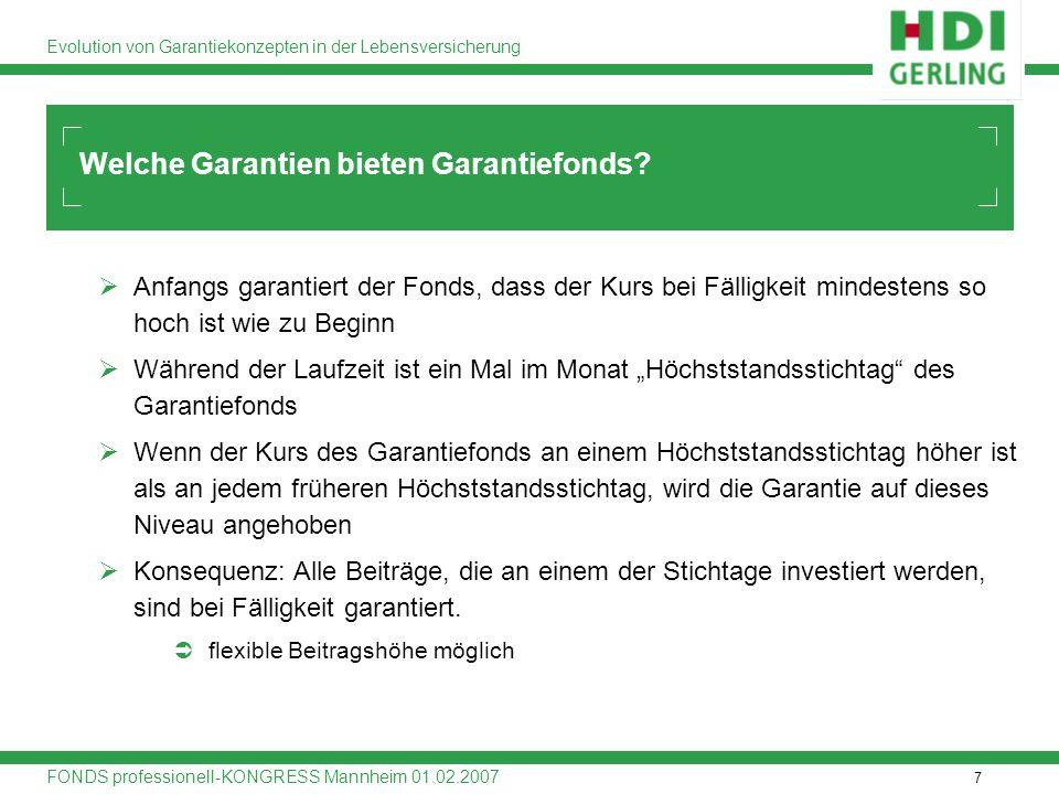 Welche Garantien bieten Garantiefonds
