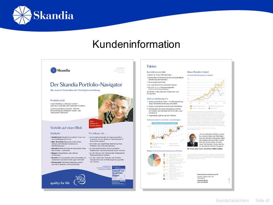 Kundeninformation Kundeninfo
