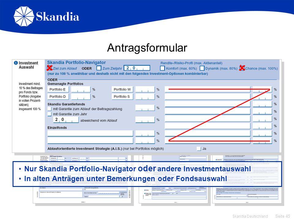 Antragsformular   Zusatzblätter nur ausfüllen, wenn … Todesfallschutz mehr als 10 % und/oder Beitragssumme mehr als 100.00 EUR.