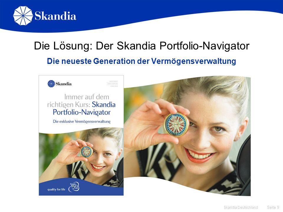 Die Lösung: Der Skandia Portfolio-Navigator