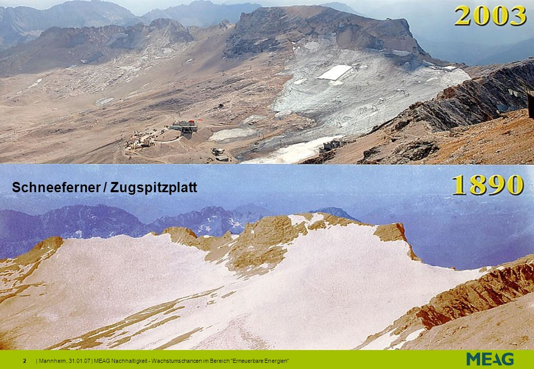 Gletscher - Zugspitzplatt