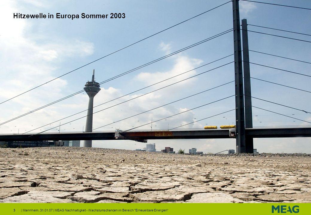 Hitzewelle in Europa Sommer 2003
