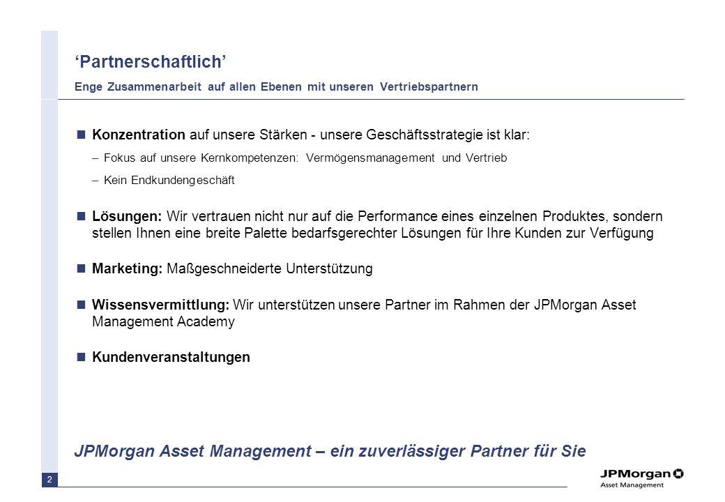 'Partnerschaftlich' Enge Zusammenarbeit auf allen Ebenen mit unseren Vertriebspartnern