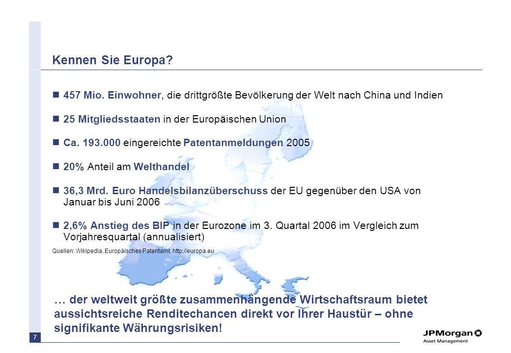 Kennen Sie Europa 457 Mio. Einwohner, die drittgrößte Bevölkerung der Welt nach China und Indien. 25 Mitgliedsstaaten in der Europäischen Union.