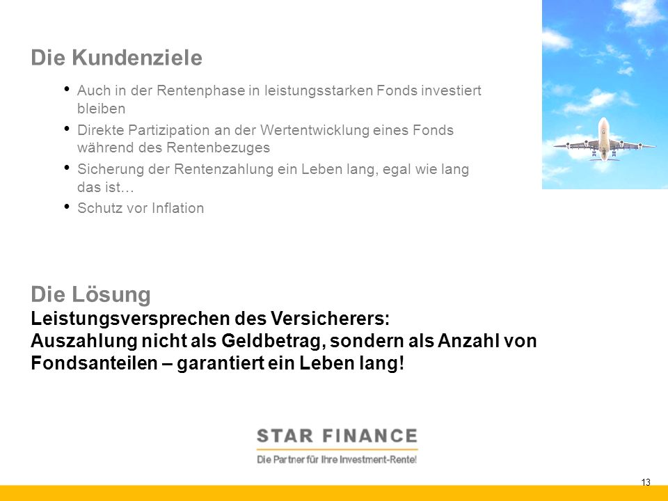 Investment-Rente: Die Innovation