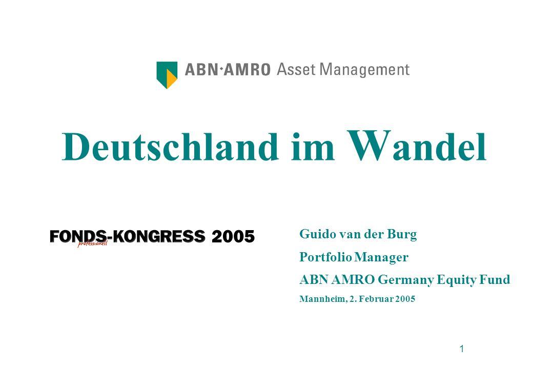 Deutschland im Wandel Guido van der Burg Portfolio Manager