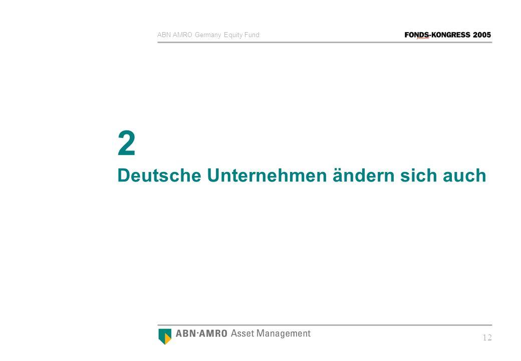 2 Deutsche Unternehmen ändern sich auch
