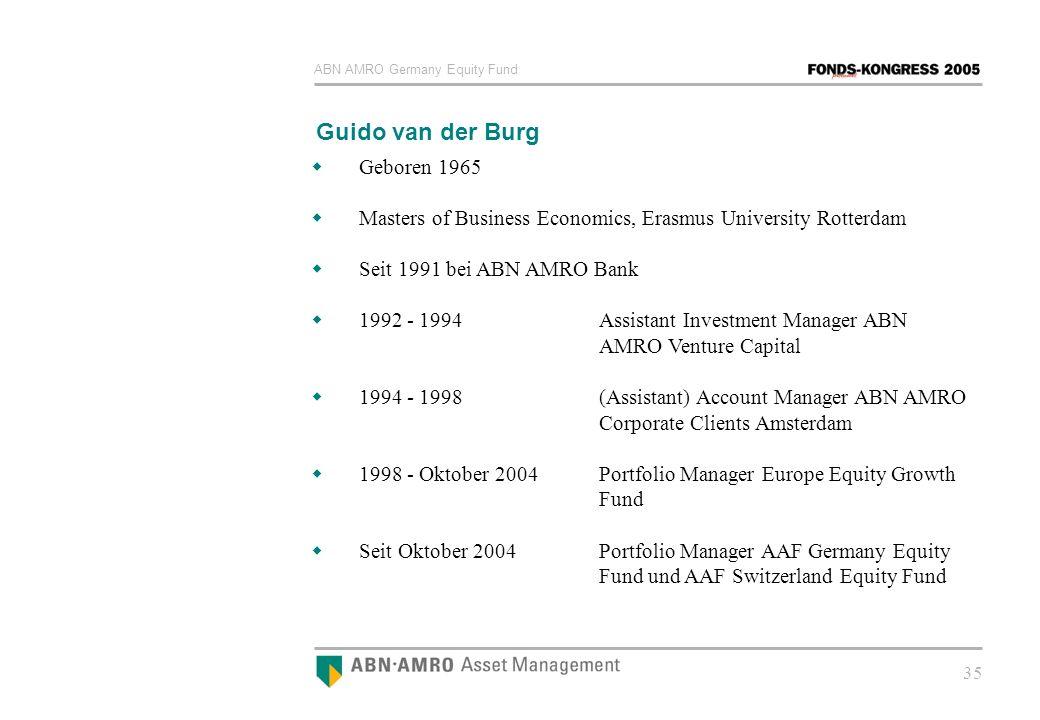 Guido van der Burg Geboren 1965