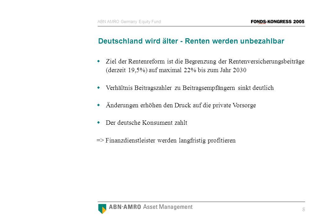 Deutschland wird älter - Renten werden unbezahlbar