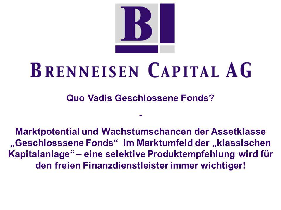 Quo Vadis Geschlossene Fonds