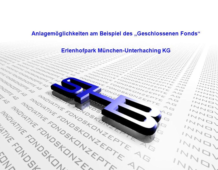 """Anlagemöglichkeiten am Beispiel des """"Geschlossenen Fonds"""