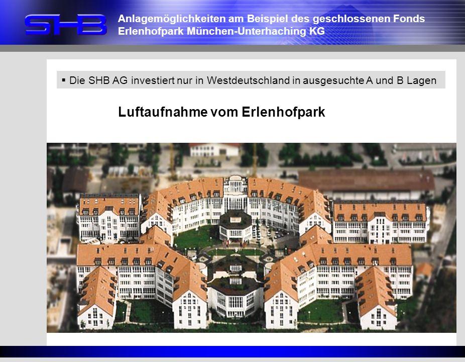 Luftaufnahme vom Erlenhofpark