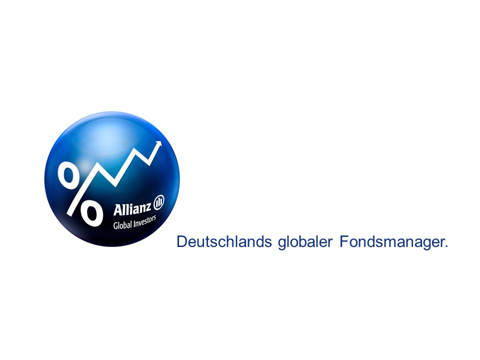 Deutschlands globaler Fondsmanager.