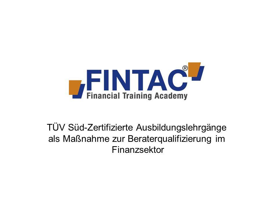 TÜV Süd-Zertifizierte Ausbildungslehrgänge