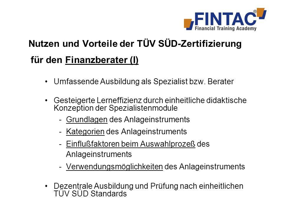 Nutzen und Vorteile der TÜV SÜD-Zertifizierung