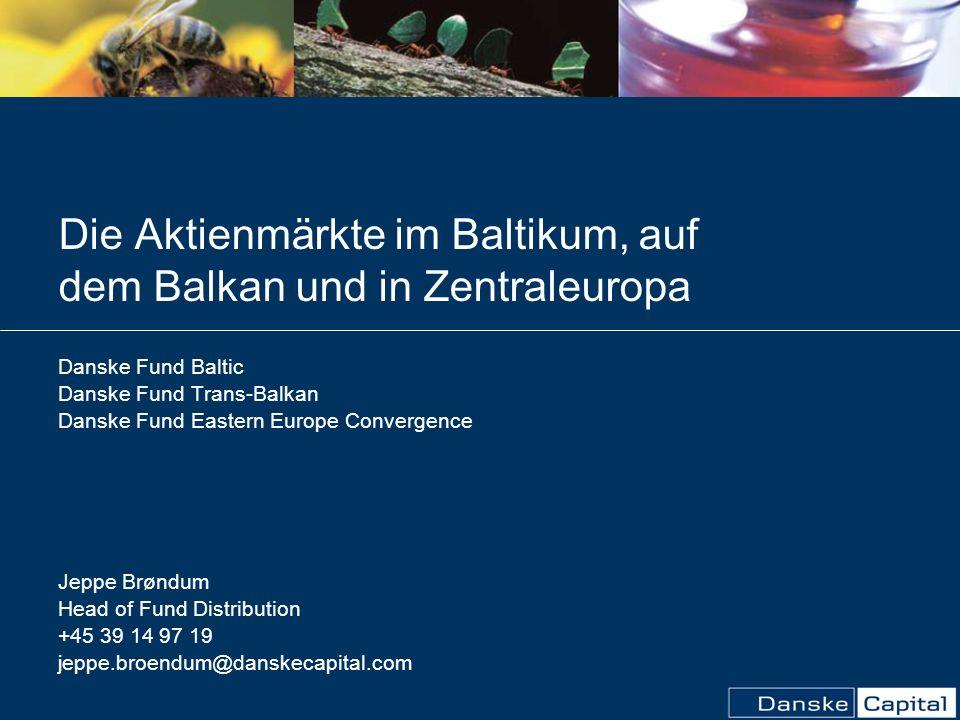 Die Aktienmärkte im Baltikum, auf dem Balkan und in Zentraleuropa