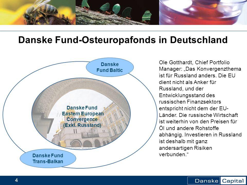 Danske Fund-Osteuropafonds in Deutschland