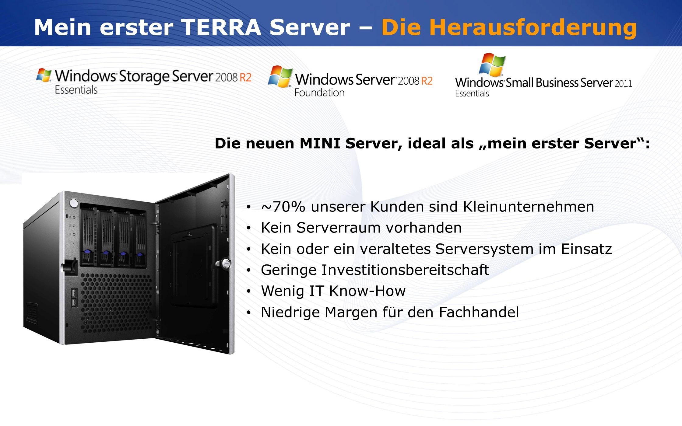 Mein erster TERRA Server – Die Herausforderung