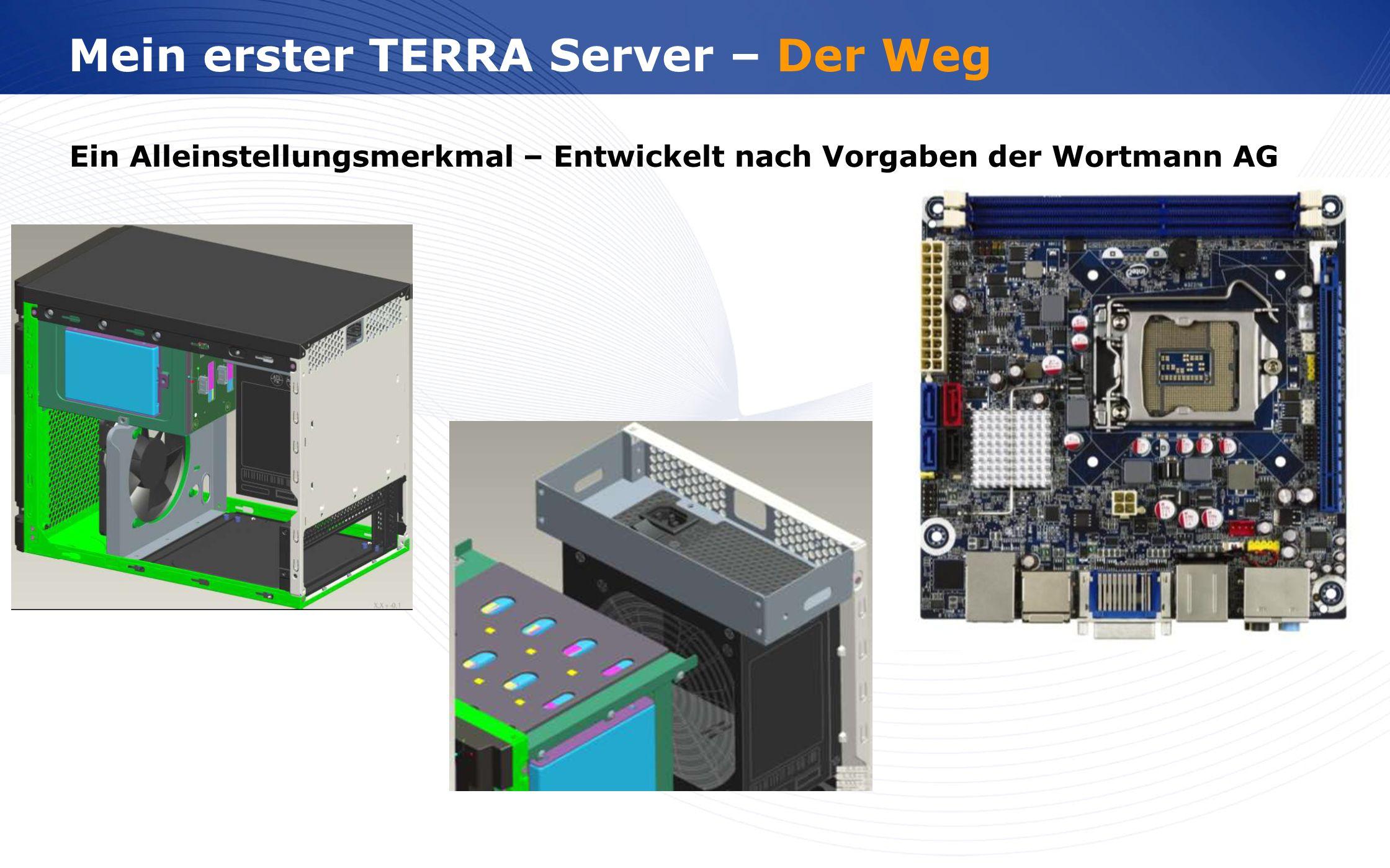 Mein erster TERRA Server – Der Weg