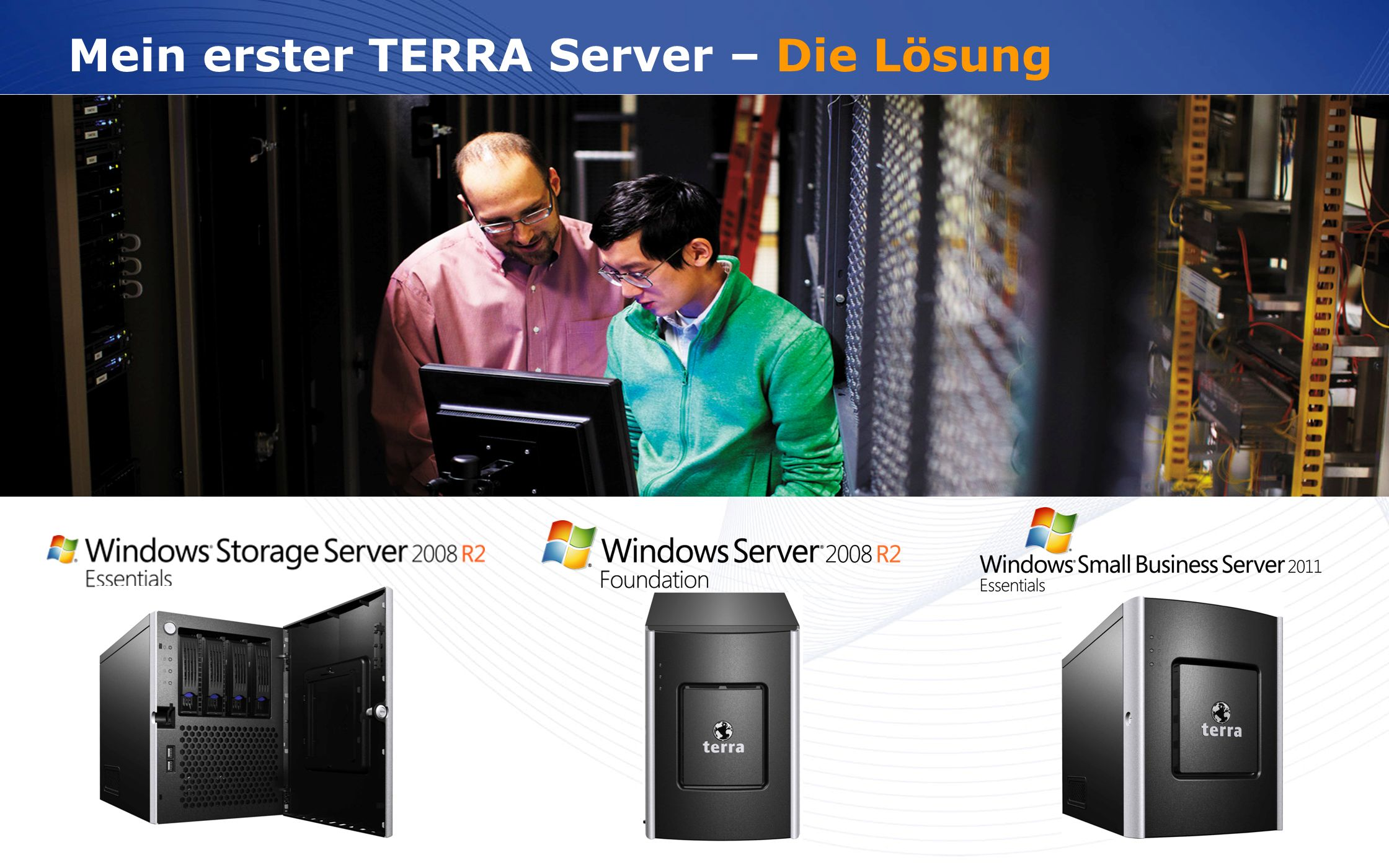 Mein erster TERRA Server – Die Lösung