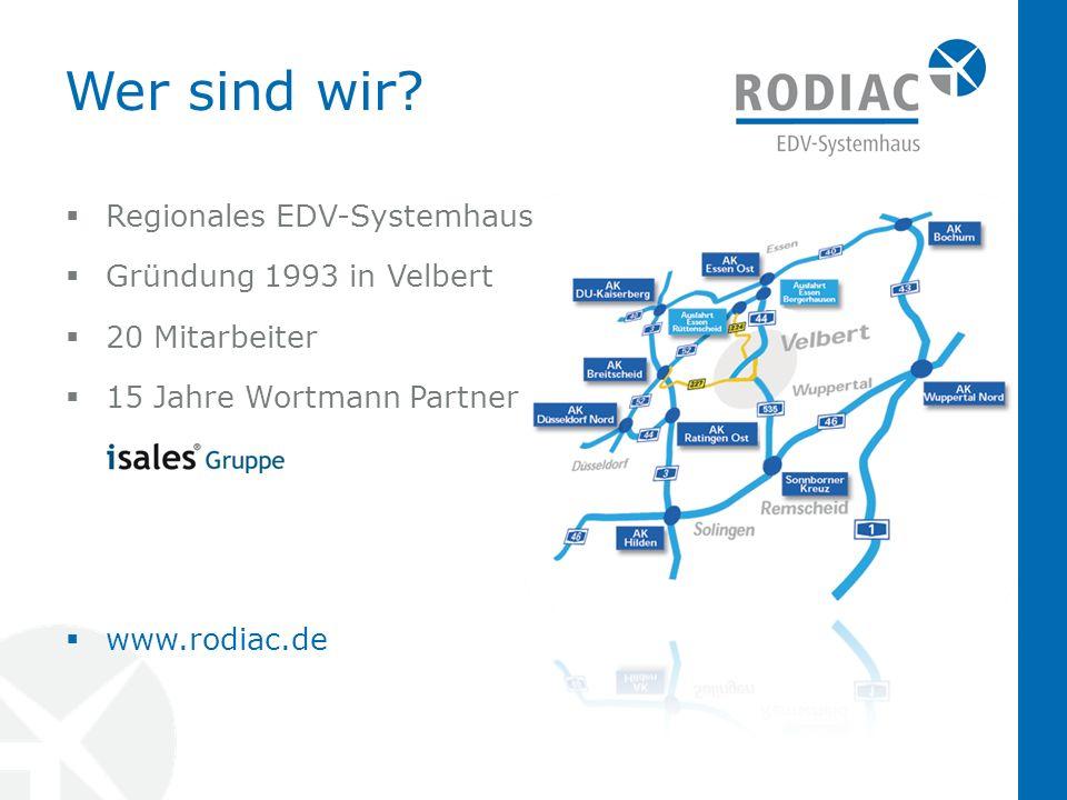 Wer sind wir Regionales EDV-Systemhaus Gründung 1993 in Velbert