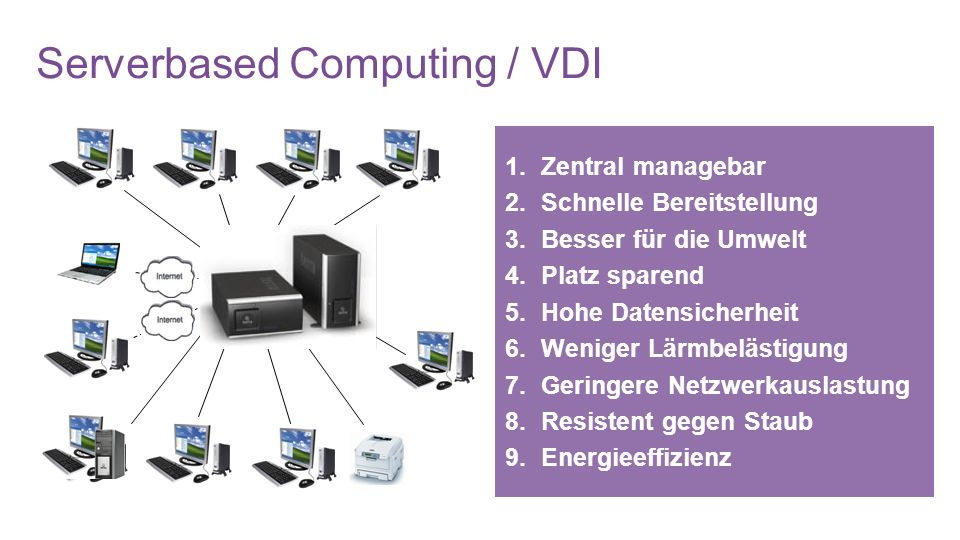 Serverbased Computing / VDI