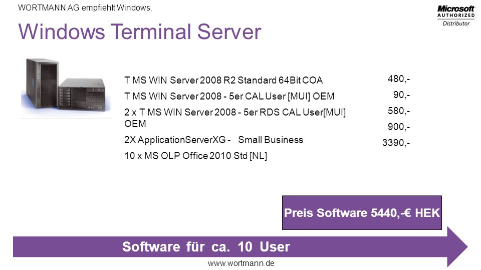 Windows Terminal Server