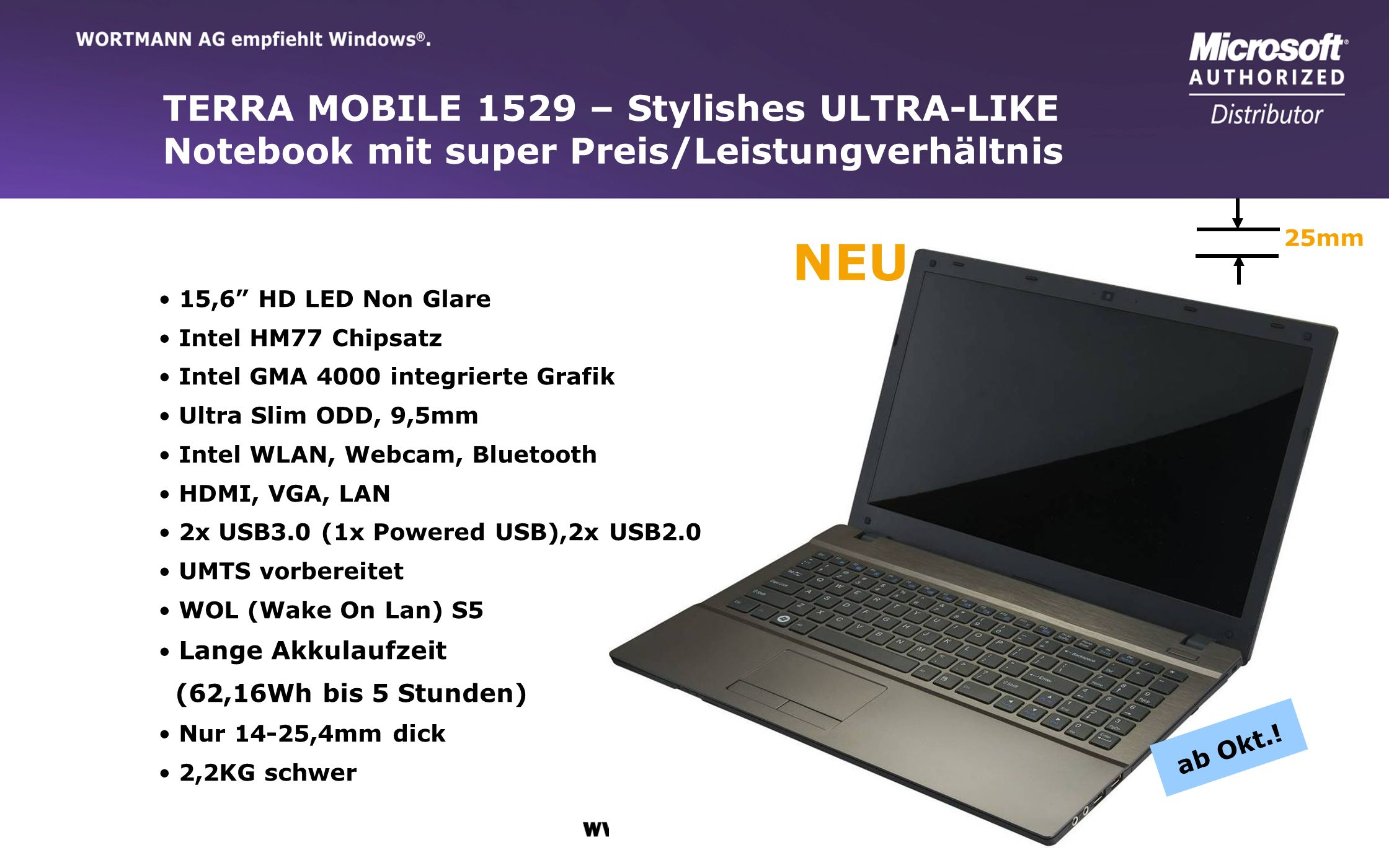 NEU TERRA MOBILE 1529 – Stylishes ULTRA-LIKE