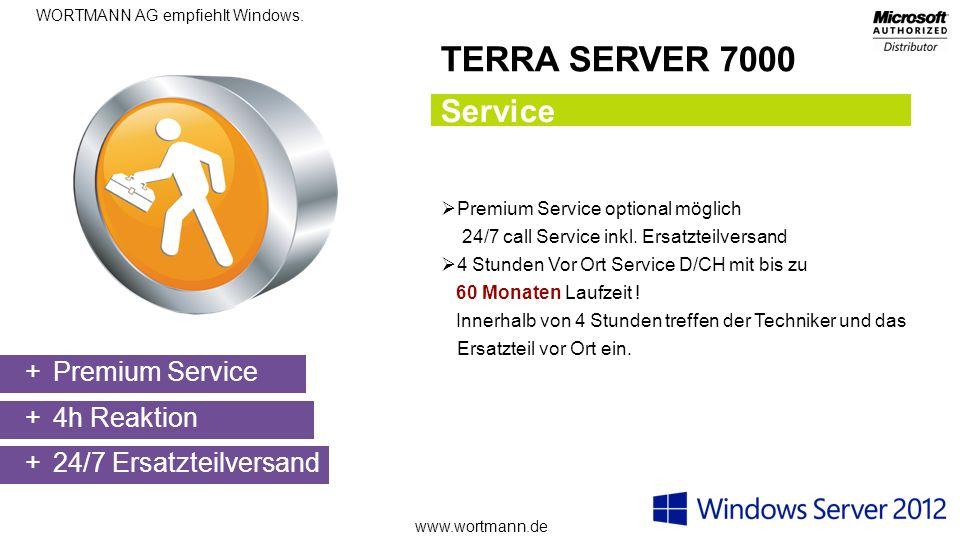 TERRA SERVER 7000 Service Premium Service 4h Reaktion