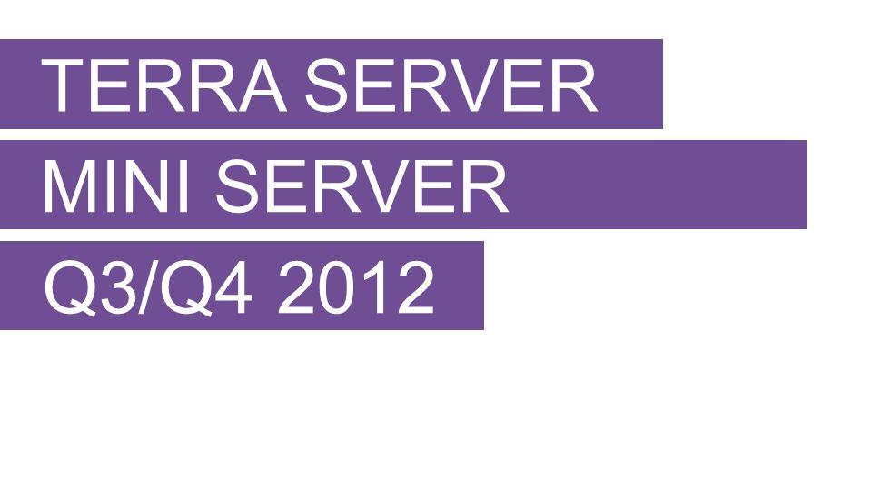 TERRA SERVER MINI SERVER Q3/Q4 2012