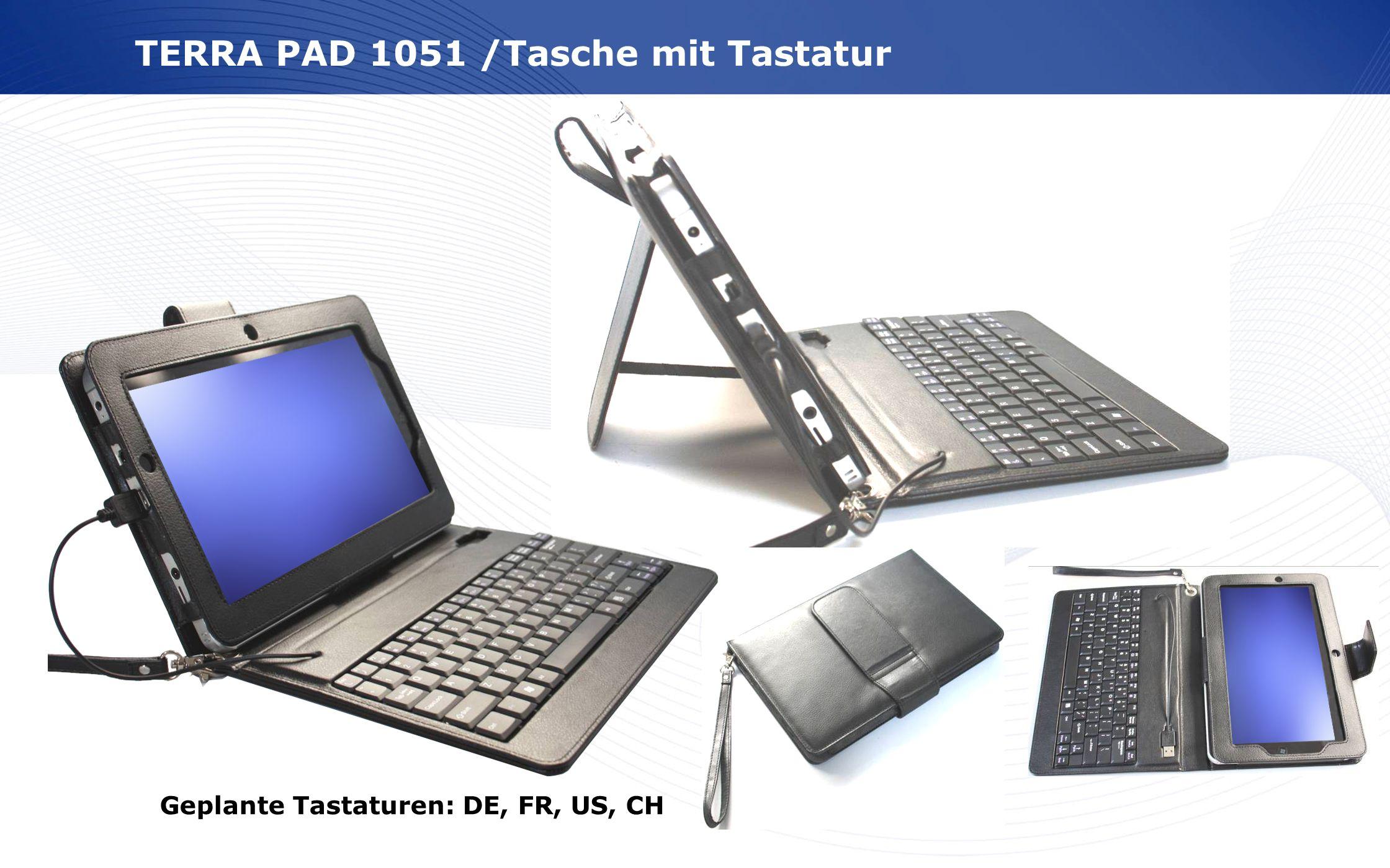 TERRA PAD 1051 /Tasche mit Tastatur