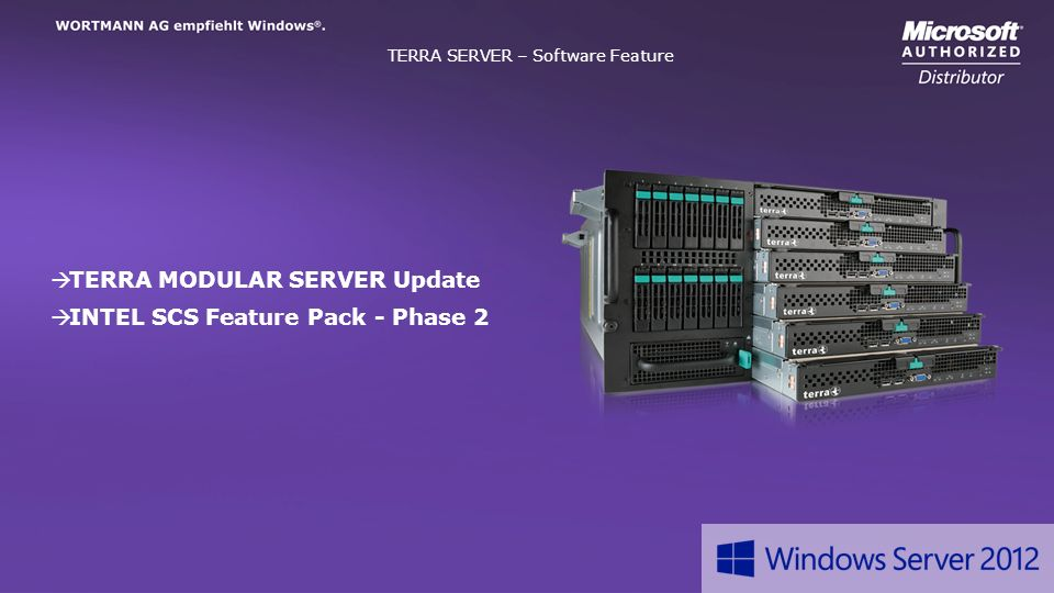 TERRA SERVER – Software Feature