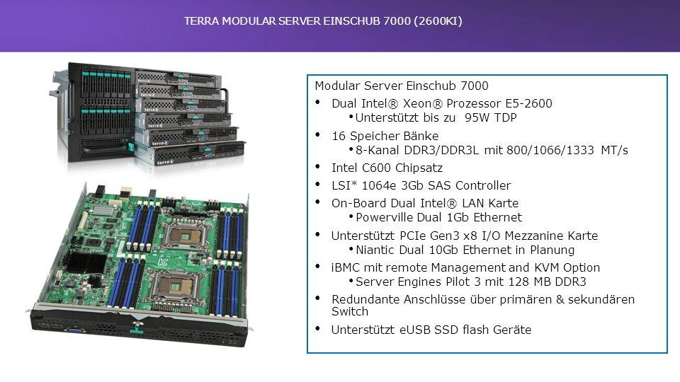 TERRA MODULAR SERVER EINSCHUB 7000 (2600KI)