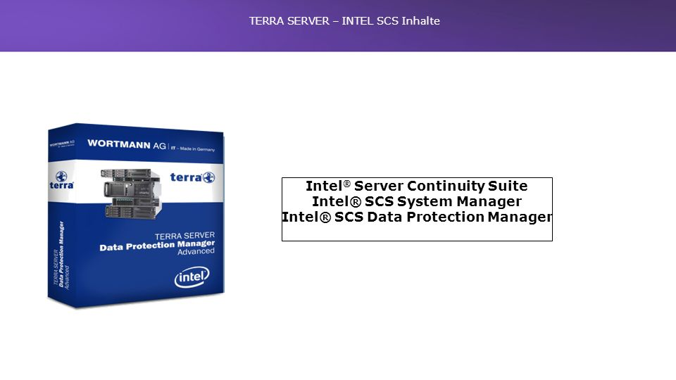 TERRA SERVER – INTEL SCS Inhalte