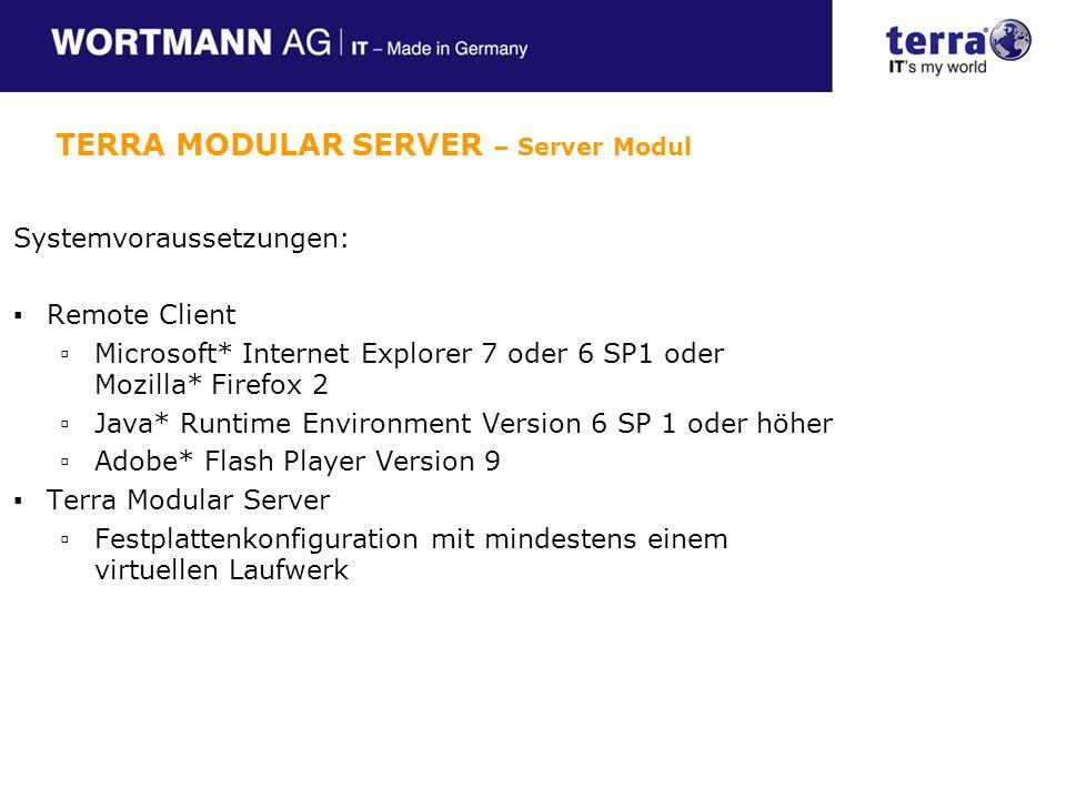 TERRA MODULAR SERVER – Server Modul