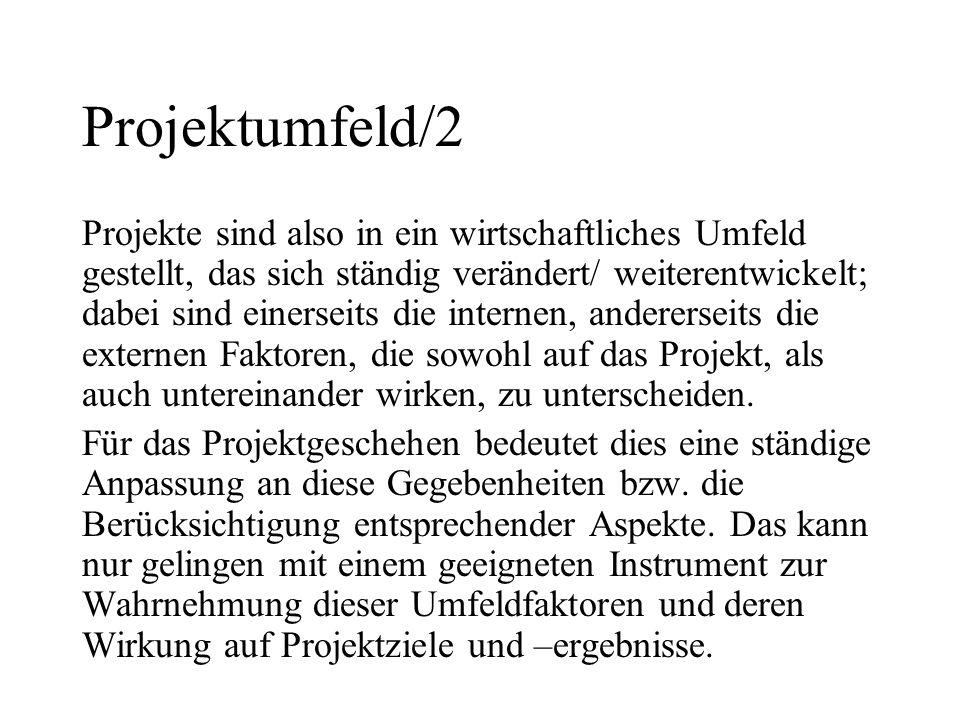 Projektumfeld/2