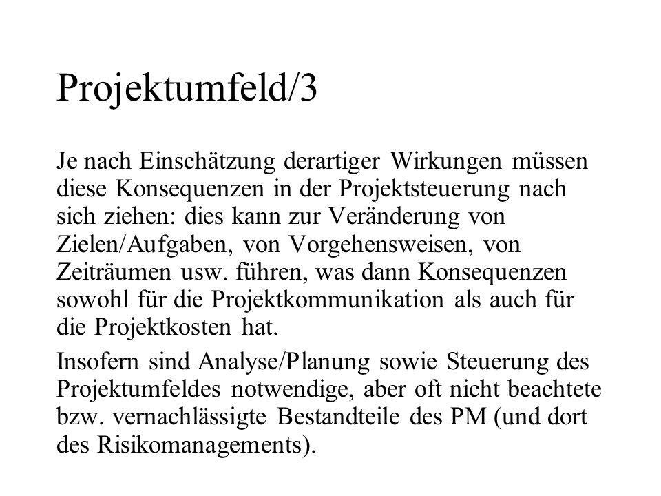 Projektumfeld/3