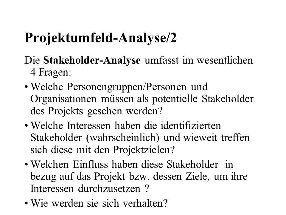 Projektumfeld-Analyse/2