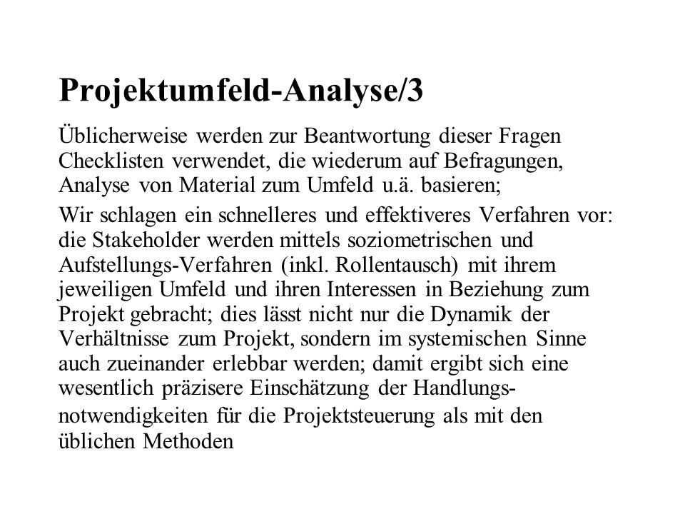 Projektumfeld-Analyse/3