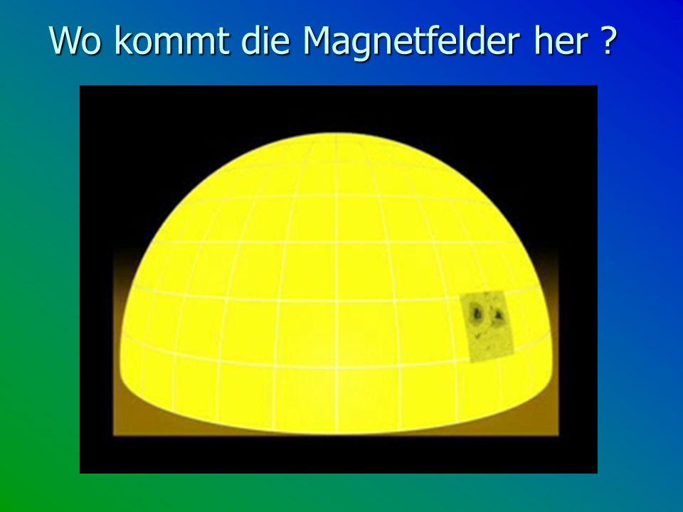 Wo kommt die Magnetfelder her