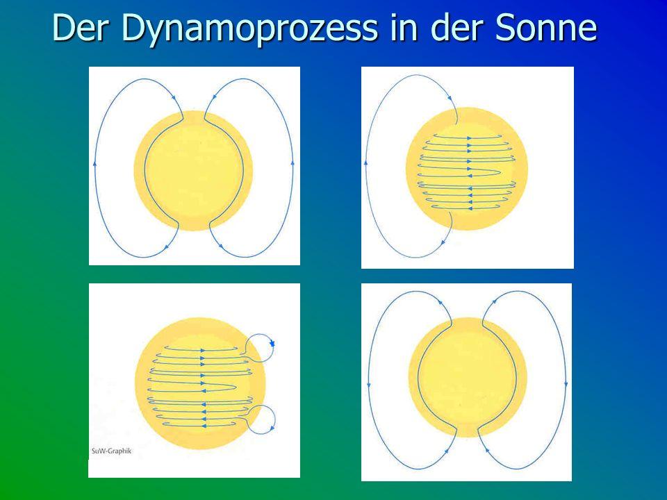 Der Dynamoprozess in der Sonne