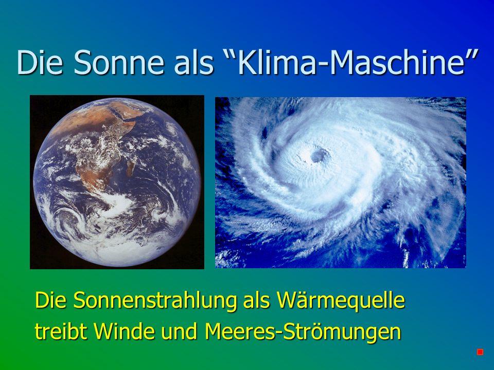 Die Sonne als Klima-Maschine