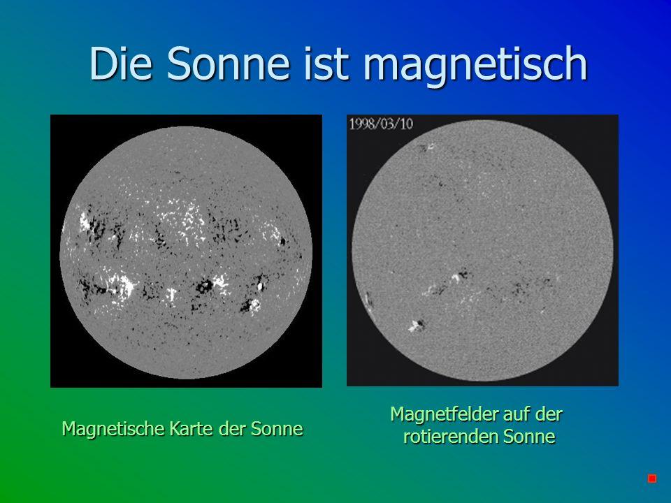 Die Sonne ist magnetisch