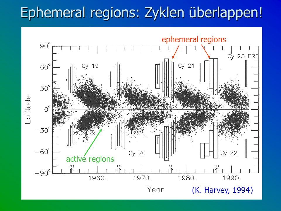 Ephemeral regions: Zyklen überlappen!