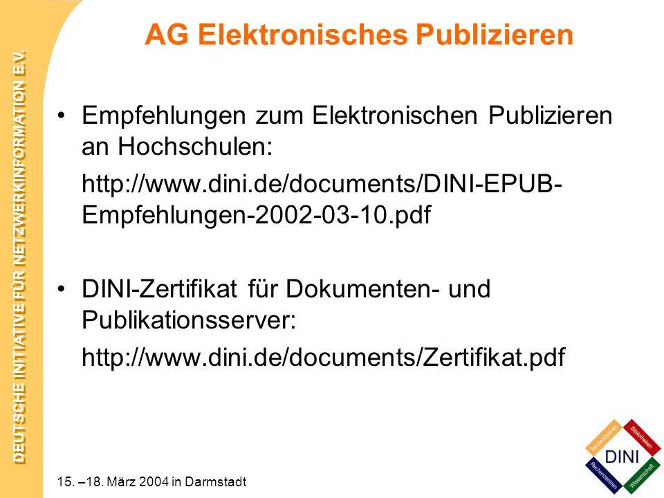 AG Elektronisches Publizieren