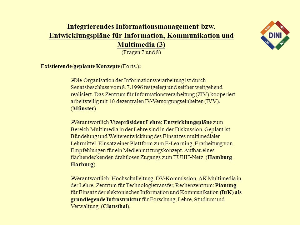 Integrierendes Informationsmanagement bzw.